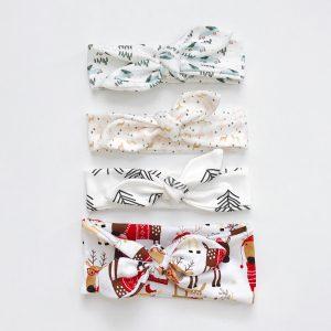 Christmas Top Knot Headbands